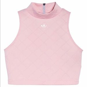 Adidas Originals NMD diamond quilted Pink Tank Top